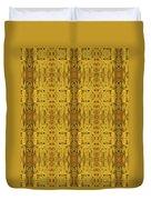 Doors Zanzibar Saffron Duvet Cover