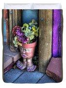Doorstep Treasures Duvet Cover