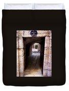 Doorway In Old City Jerusalem Duvet Cover