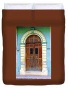 Doorway Of Nicaragua 001 Duvet Cover