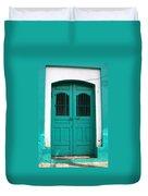 Doorway Of Nicaragua 002 Duvet Cover