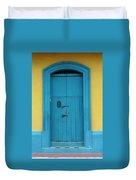 Doorway Of Nicaragua 003 Duvet Cover