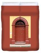 Doorway Of Nicaragua 004 Duvet Cover