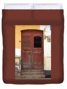 Doorway Of Nicaragua 006 Duvet Cover