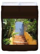 Doorway To Paradise Duvet Cover