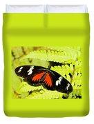 Doris Longwing Butterfly Duvet Cover