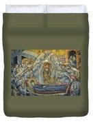Dormition Of The Virgin Duvet Cover