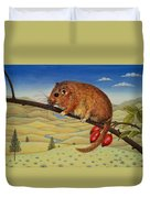 Dormouse Number Two, 1994 Duvet Cover