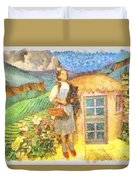 Dorothy And Toto  Duvet Cover