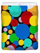Dot Graffiti Duvet Cover by Art Block Collections