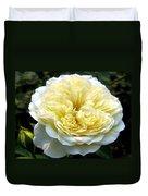 Double Cream Rose Duvet Cover