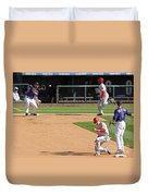Double Play Duvet Cover