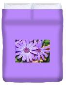 Double Purple Duvet Cover