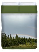 Double Rainbow Duvet Cover