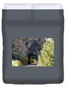 Double Tunnel - Eleven Mile Canyon Duvet Cover