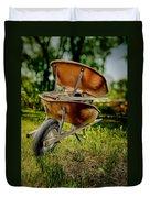 Double Wheelbarrow Duvet Cover