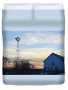 Dougherty Barn Panorama Duvet Cover