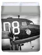Douglass C-47 Skytrain - Nose Section - Dakota Duvet Cover