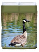 Down Around The Pond Duvet Cover