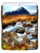Down By The Brook Duvet Cover