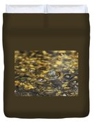 Down By The Bubbling Spring Duvet Cover