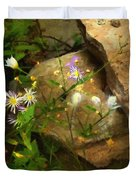 Down By The Creek Duvet Cover
