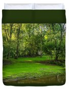 Down By The River Duvet Cover
