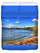 Lake District In Great Britain Duvet Cover