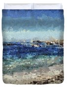 Down By The Sea 1 Duvet Cover