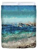 Down By The Sea 2 Duvet Cover