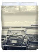 Down By The Shore Duvet Cover