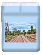 Down Chisolm Island Road Duvet Cover