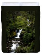 Down From The Hills Duvet Cover