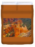 Down Into Bryce Duvet Cover by Jeff Swan