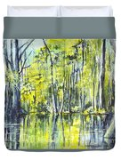 Down On The Bayou Duvet Cover