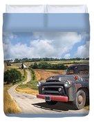 Down On The Farm - International Harvester S-100 Duvet Cover