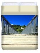 Down The Bridge Duvet Cover