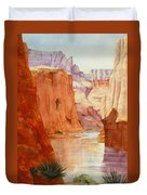 Down The Canyon - Day Two Duvet Cover