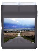 Down The Road Duvet Cover