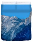 Down The Valley Yosemite Duvet Cover