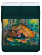 Down To Earth Up To Me Duvet Cover