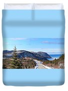 Down To The Sea - Oceanview - Hillview Duvet Cover
