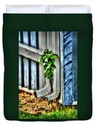 Downspout Duvet Cover by Doc Braham