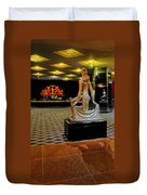 Downstairs Lobby Radio City Music Hall Duvet Cover