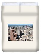 Downtown Atlanta Duvet Cover