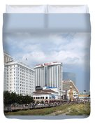 Downtown Atlantic City New Jersey Duvet Cover