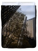 Downtown Autumn Duvet Cover
