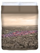 Boulder Colorado  Twenty-five Square Miles Surrounded By Reality Duvet Cover