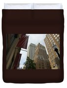 Downtown Canyon Duvet Cover