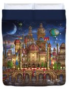 Downtown Duvet Cover by Ciro Marchetti